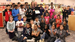 Grant Wood Elementary School receives Code Iowa Technology Award